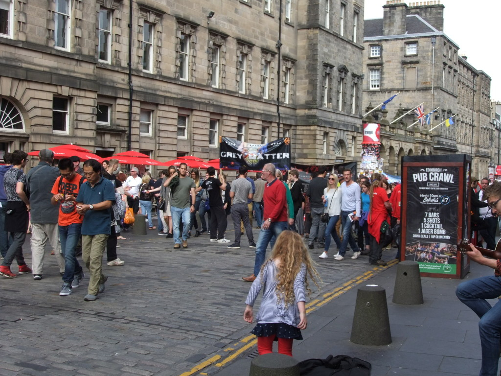 Festival Street Crowds