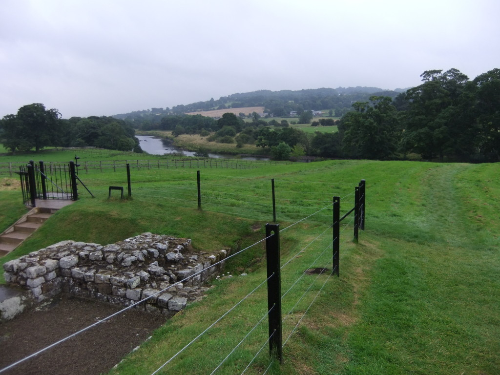 Chesters Fort - view to river