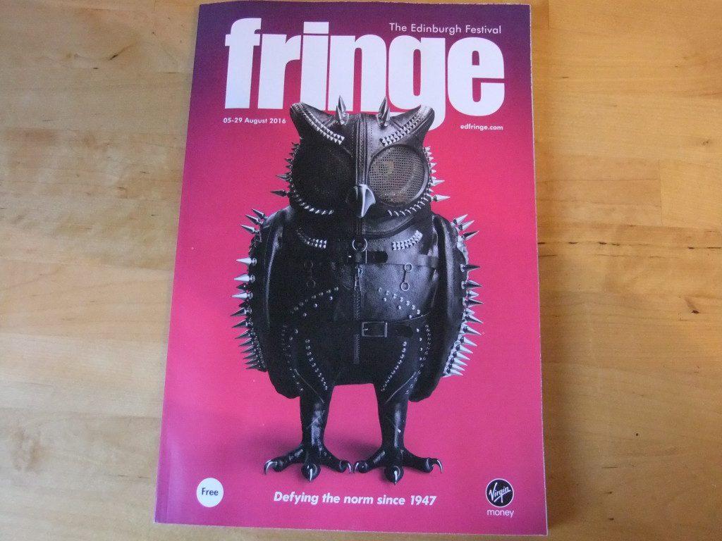 Edinburgh Festival Fringe 2016 - Programme