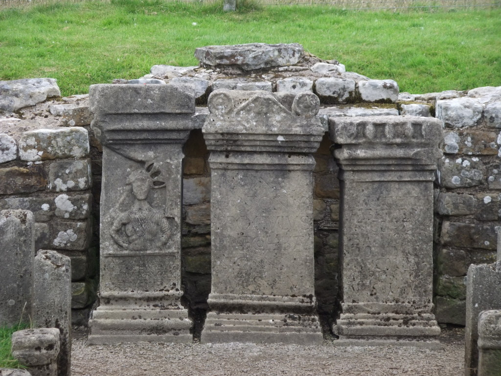 Altar at the Temple of Mithras